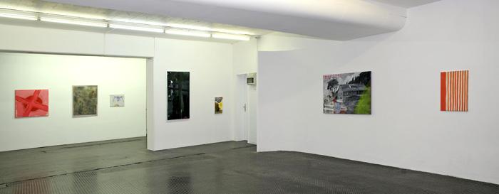 Schwerpunktmäßig Malerei junger Künstler aus Karlsruhe mit ...